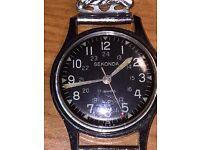 Vintage sekonda military watch