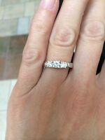 3 Stone Diamond Ring: Make an Offer!
