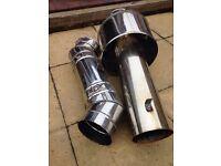 Boiler, flue, pipe, gas , oil