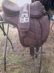 Treeless saddle