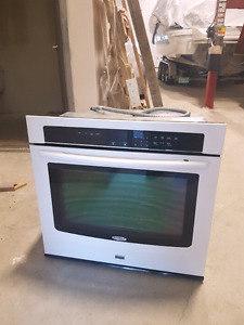 "30"" whirlpool built in wall oven"