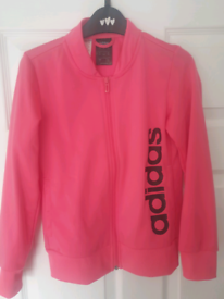 Girls adidas tracksuit size 9-10 years