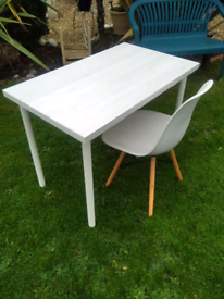 IKEA TABLE WITH CHAIR