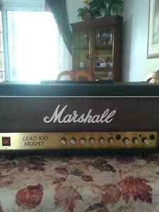 MARSHALL MOSFET 100 AMPLIFIER