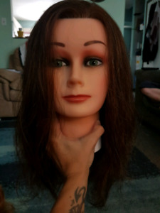 Dannyco Real Human Hair Mannequin