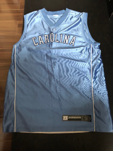 Collectors JORDAN JUMPMAN UNC CAROLINA JERSEY LARGE - $50