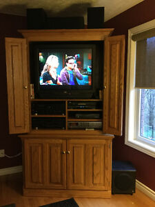 Entertainment Unit with TV components