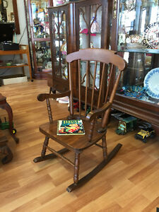 Child's Rocking Chair -- FROM PAST TIMES Antiques - 1178 Albert