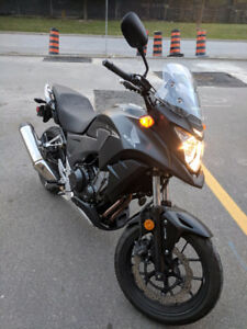 2014 Cb500xa motorcycle with ABS - like new condition