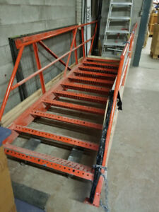 Heavy Duty ‎Steel Staircase ‎For ‎Fire ‎Escape, Mezzanine_LG
