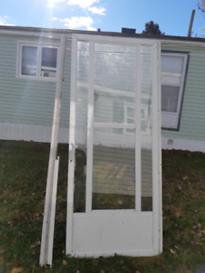 white alum screen door ph only