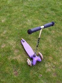 FREE mini micro scooter - no brake