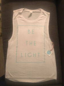 Be the Light (with tag) & Karma tank tops - both for $15