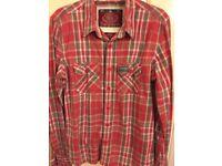 3 men's superdry shirts for sale