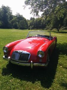 MGA 1959 Excellent Condition Red with black interior ...