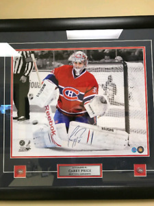 Carey Price signed picture