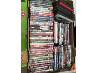 70 DVD's for sale. That's 30p per DVD