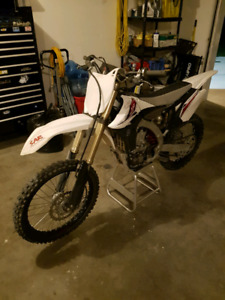 2013 Yamaha Yz450F special edition