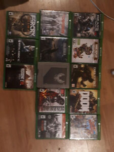 lot xbox one games