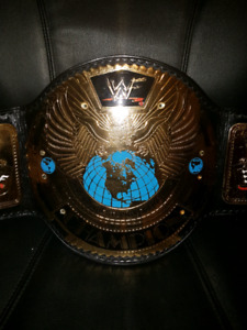 WWE/WWF Big Eagle replica belt on real leather