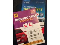 Theory and practical test books