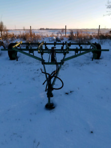14 foot JD spring tooth/coil spring cultivator
