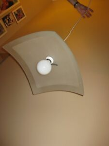 Ikea Kvartal Pendant Lighting Fixture - Glass Cover