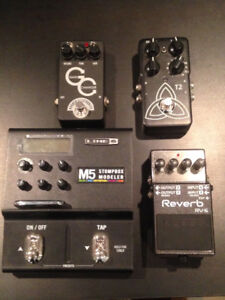 Guitar Pedals - Line 6, Boss, TC Electronic, Barber