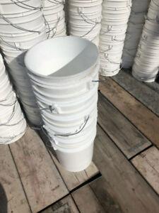 Chaudières 5 Gallons-20 Littres-sans couvercles-Pails No Lids