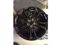 "Ford Focus 19"" ST alloy wheel black"