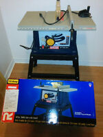 "RYOBI 10"" Table Saw with Stand"