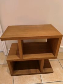 Side table - Oak Veneer (Furniture Village)