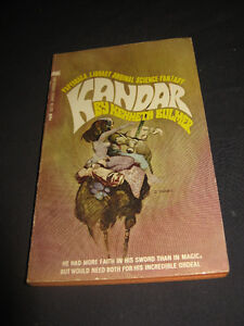 Kandar by Kenneth Bulmer 1969 science / fiction PB novel