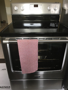 Stainless Maytag Electric Range (Self-Clean)