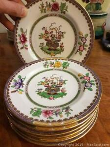 Exclusive to Harrod's London vintage English porcelain Spode Copeland's set of cake plates.