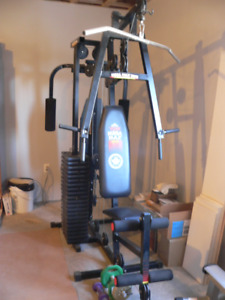 York Mega Max 3001,  Weight Machine