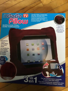 Tablet/travel pillow. 3 in 1