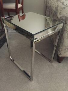 Tables d'appoint en miroir