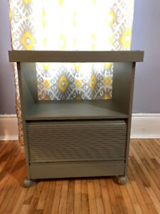 Chalk Painted Cabinet, Grey