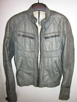 MENS DIESEL LEATHER MOTO JACKET SIZE SMALL