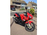 Lexmoto XTRS125 for sale low milage 62 plate (2012) very good condition MOT'd til june 2017