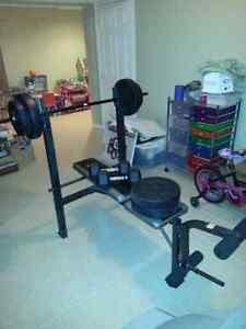 New weight bench