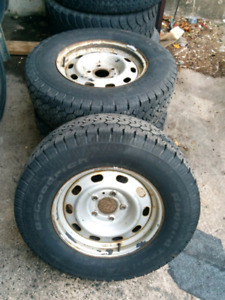 BF Goodrich All Season tires on rims