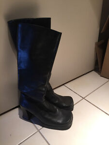 Two (2) pairs of Women's Size 8 Boots