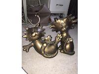 Helen Rhodes limited edition cat sculptures