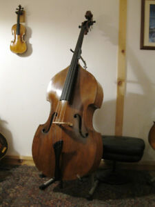 c1850 Tyrolean double bass