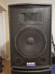 ISP Technologies,- VMAX 15XL Powered Speakers