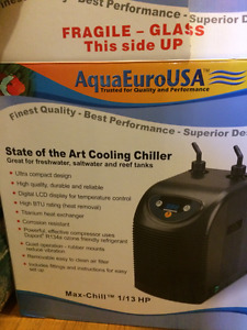 Aquarium Chiller/ Chill your tank to a 30 ft Depth