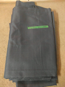 Blue curtain panels- 4 available