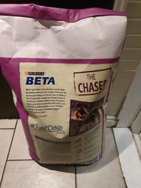 Purina senior dog food with prebiotic